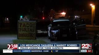Los Mexicanos Taqueria & Market armed robbery
