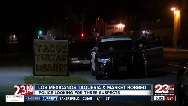 Los Mexicanos Taqueria - Market robbed