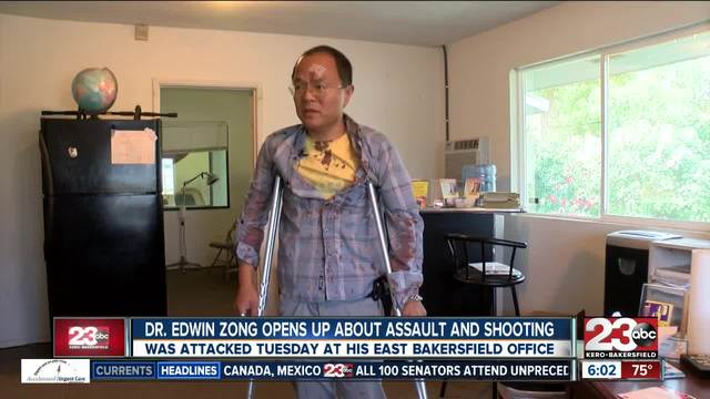 Local doctor opens up after shooting and killing a man who attempted to…