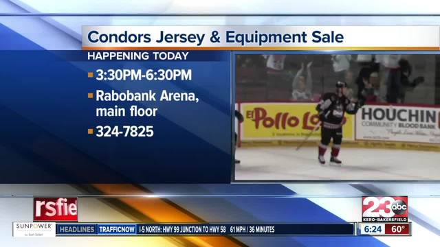 Condors Jersey and Equipment Sale