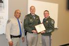 CHP officer recognized for service