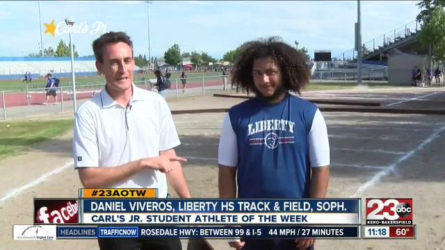 Male Athlete of the Week- Daniel Viveros