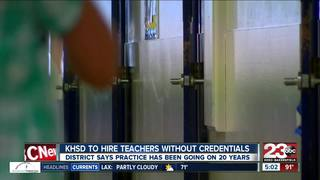 KHSD approves hiring non-credentialed teachers