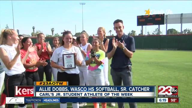Female Athlete of the Week- Allie Dobbs