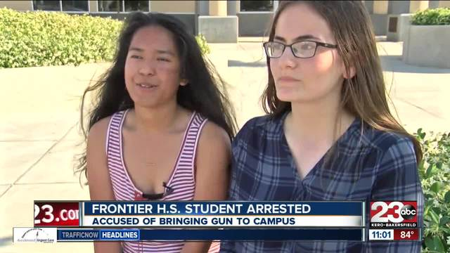 Officials Investigating Reports Photo Of Gun In Frontier High