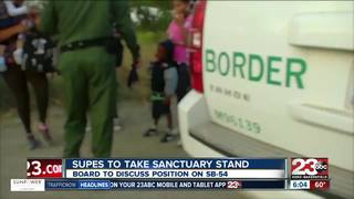 Board to discuss stance on sanctuary state bill