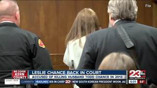 Leslie Chance due in court for murder of husband