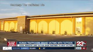 Human Traffickers brand victims with tattoos
