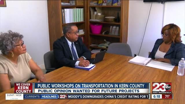 Kern County transportation workshop