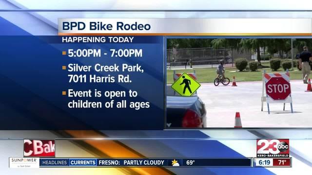 Bakersfield Police Hosting Annual Bike Rodeo