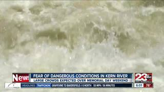 Experts expecting huge crowds on the Kern River