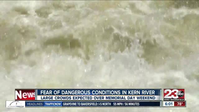 Memorial Day Kern River Dangers