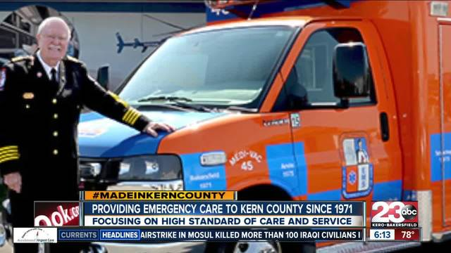 Made in Kern County- Hall Ambulance