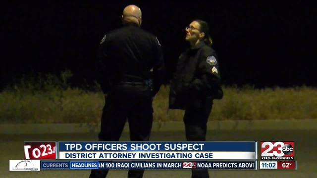 DA now investigating Tehachapi officer involved shooting