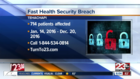 Fast Health in Tehachapi suffers security breach