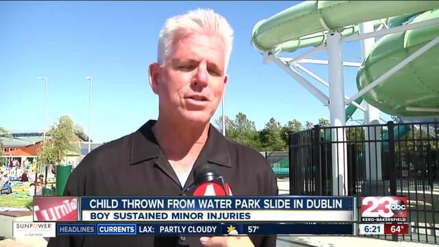 Boy injured in fall on opening day for California water park