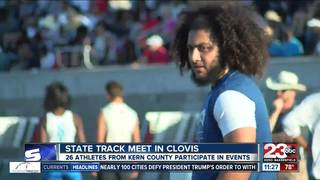 Kern County athletes winning medals at state