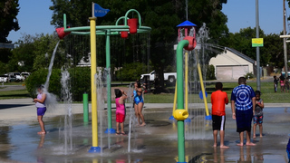 Beat the heat, visit your local spray park
