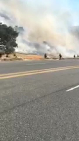 Highway Fire covering 1-000 acres- evacuation orders in place