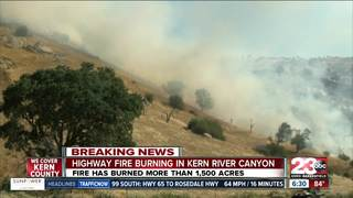 Highway Fire 95% contained, 1,522 accres burned