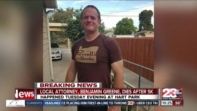Bakersfield Attorney Benjamin Greene dies after 5k run at Hart Park