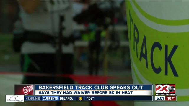 Bakersfield Track Club speaks out after death of Benjamin Greene