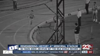 50 years since Jim Ryun set a world record at BC