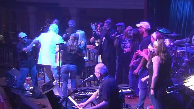 Former Bakersfield Mayor Harvey Hall Falls Twice at Media Music Jam