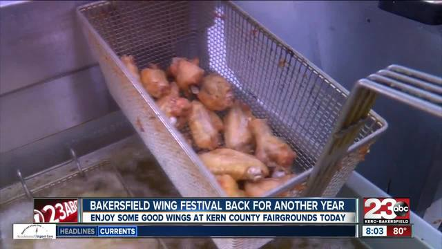 Second annual Bakersfield Wing Fest