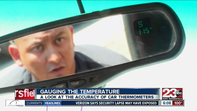 Gauging the outside air temperature from inside your car- why that can…