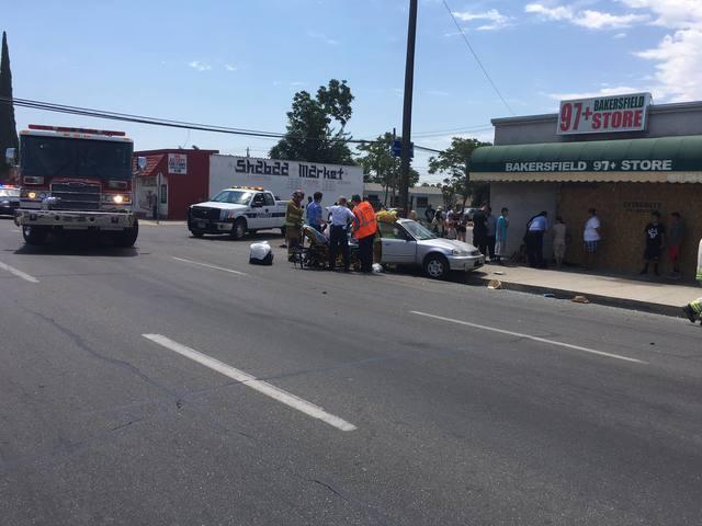 Seven People Injured In East Bakersfield Crash Turnto23