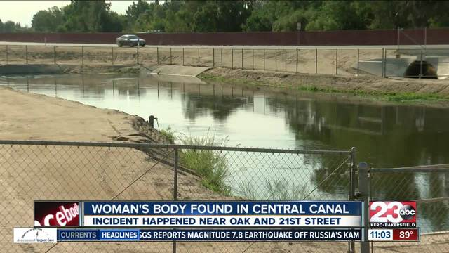 Four bodies found in canal in one week
