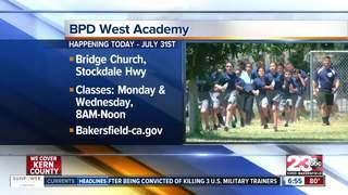 BPD cadet academy kicks off