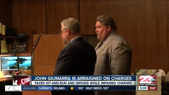 John Giumarra III appears in court for first time for deadly hit-and-run