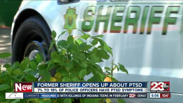 Former Kern County Sheriff opens up about PTSD- symptoms-