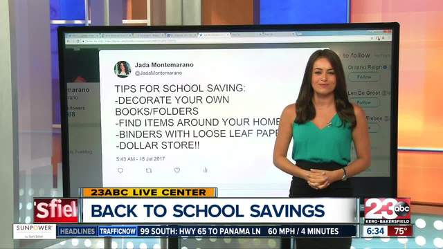 Ways to save on back-to-school shopping