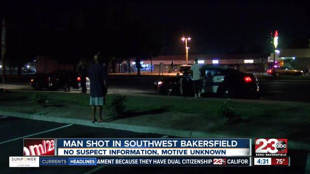 Overnight shooting leaves man with moderate injuries