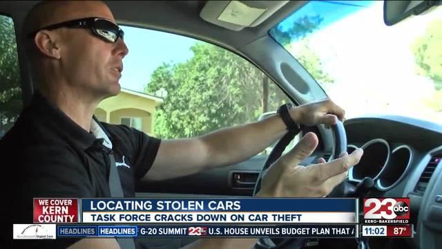 Task force cracks down on car theft
