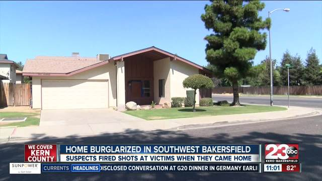 suspect fires shots at homeowner during burglary attemp
