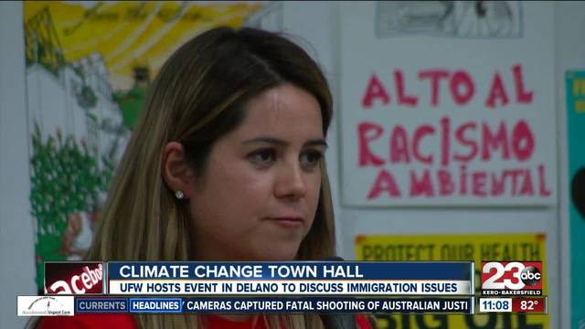 UFW hosts discussion on climate change and immigration rights