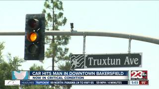Man critically injured after being hit by car...