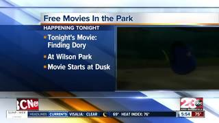 Wilson Park will show a free movie on Friday