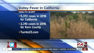 Valley Fever cases spiked in 2016
