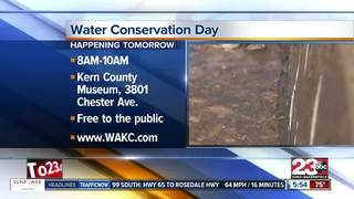 Water Conservation Day will be held Saturday