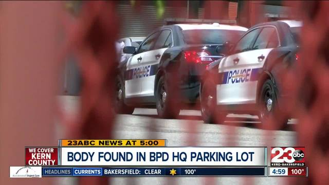 Body found in vehicle at BPD parking lot