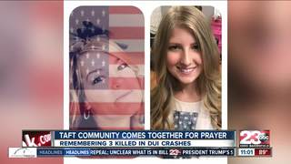 Community healing after fatal Taft crashes