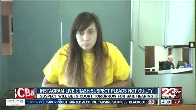 Teen accused of livestreaming deadly auto crash set to appear in court
