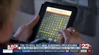 TSA: new screening measures for electronics