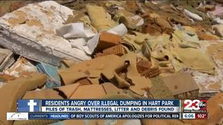 Illegal dumping problem found in Hart Park