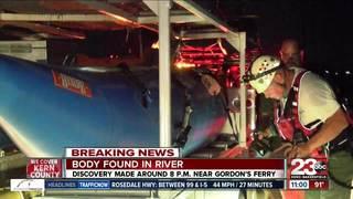 Body found in Kern river near Gordon's Ferry